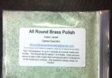 Brass Polish For Reloading Virbratory Casing Tumblers (8 Oz)