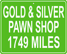 Gold & Silver Pawn Stars Shop in Las Vegas, NV mileage sign your house