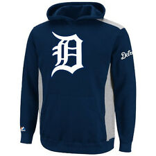 MLB Youth Detroit Tigers Lil Catcher Athletic Long Sleeve Hoodie, Small, New