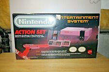 Nintendo NES-001  Console - Canada - complete ACTION SET - FLASHING RED