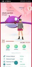 Pokémon Go account shiny kyogre shiny giratina shiny Ho-oH shiny moltres