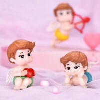 DIY Mini Cupid Love Miniature Garden Decor Craft Ornament Accessories Random *u