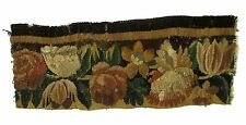 A Tapestry Fragment with Flowers
