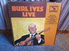 Burl Ives  – Burl Ives Live (Album)
