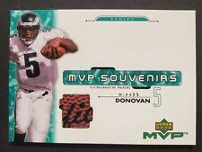 2001 Upper Deck MVP Souvenirs #DM Donovan McNabb Piece of Game-Used Football