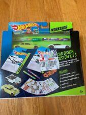 Hot Wheels Work Shop Custom Design Starter Car Kit 1