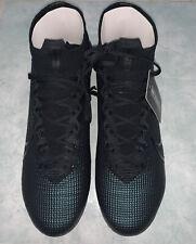 Nike Mercurial Superfly 7 Elite FG Triple Black Size 12us