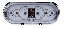 Dakota Digital 63 64 65 Chevy Nova Customizable Gauges Kit Silver HDX-63C-NOV-S