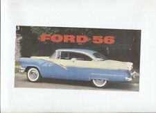 N°9281 /  FORD 1956 : dépliant en français modéle USA