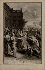 Gravure du XIXe siècle et avant signés religion, mythologie