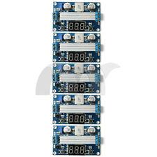 5PCS DC 100W LTC1871 3-35V Boost Step up Power Voltage Regulated +LED Voltmeter