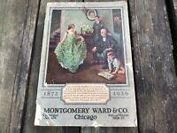 Original 1926 - 27 MONTGOMERY WARD DEPT STORE CATALOG Fall & Winter Toys Clocks