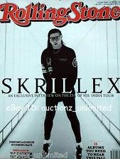 Rolling Stone October 2015 Skrillex Megadeth John McLaughlin Jose Neil Gomes
