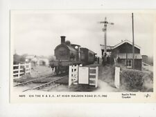 On The K&ES Railway At High Halden Road 1953 Pamilin Repro Postcard 638b