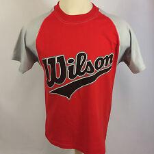 Mint Deadstock Vintage 80s 90s Wilson Baseball Softball Jersey T Shirt Cotton