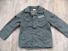 NAME IT coole Jacke khaki im Army Stil SHERWOOD Gr. 98 TOP DD1017