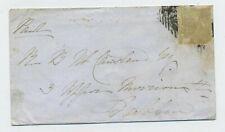 Interesting 1848 Cover Tuam - Dublin Ireland C1