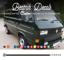 VW Volkswagen T25 / T3 Side Stripe Sticker Decal Graphic Camper Single Colour