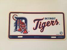 Vintage Sports License Plate Tag Detroit Tigers MLB Retro 1990s Baseball