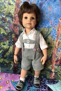 "Sweet Gotz Bavarian Boy Doll Johann, Hannah 19"" Friend German Doll"