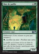 MTG Magic M15 - (4x) Wall of Mulch/Mur de paillis, French/VF