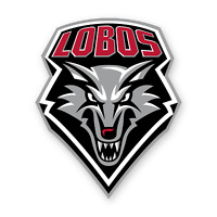 New Mexico Lobos Mascot Logo Sticker Die Cut Vinyl Decal Truck Window Wall Door