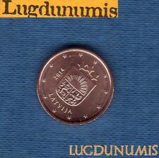 Lettonie 2014 1 centime d'Euro SUP SPL Pièce neuve de rouleau - Lativia