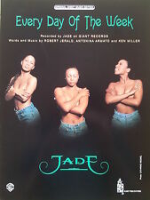 Jade: Every Day Of The Week (Piano/Vocal/Guitar Sheet Music) - MINT CONDITION!