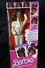 Black Barbie vintage Christie Super Hair 1986 Boîte Neuve