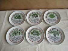 6 mal Salatteller Porzellan Porcelaine d´Auteuil  Service Bistrol france