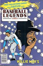 "1992 Revolutionary ""Baseball Legends"" Comic Willie Mays San Francisco Giants HOF"