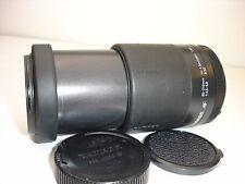 TAMRON AF 80-210mm F 4.5-5.6  lens for NIKON cameras 178D  SN120222