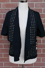 Rock & Republic jacket evening blazer shirt studs embellished Studded Sz 2 $80
