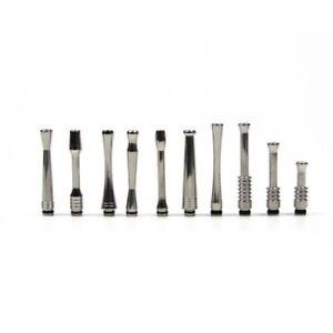 510er Long Pipe Drip Tips aus Edelstahl lange Mundstücke  E Zigaretten Driptip