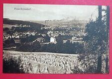 AK PLAUE-BERNSDORF bei Flöha um 1910 Ortsansicht mit Fabrik    ( 27866