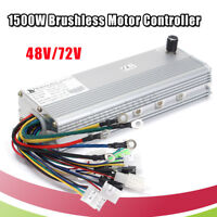 48V/72V 1500W Electric Bicycle Brushless Motor Controller for E-bike &  m ☀