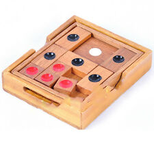 High Quality Escape Solid Wood Game brainteaser Wooden Puzzle ( HUA RONG DAO )