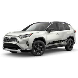 Mountain Stripes For RAV4 TOYOTA Decal Off Road Sport limited graphics 2020 2021