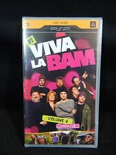 MTV VIVA LA BAM VOLUME 4 UNRATED PSP UMD VIDEO **NEW**