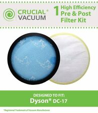REPL Dyson DC17 Washable Pre & NonWashable Post HEPA Filter Part # 91123501