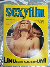 Italian Vintage Magazine Sexy Film No 2 July 1971 LAURA ANTONELLI on cover -RARE