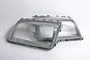 Headlight Lamp Lenses PAIR Fits MERCEDES C-Class W202 S202 1994-1996