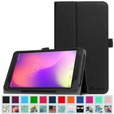 For New T-Mobile Alcatel 3T 8 inch 2018 Tablet Folio Case Cover Stand Leather