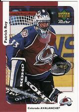 PATRICK ROY, COLORADO AVALANCHE, RARE NHL CARD, 2.