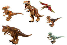 LEGO Jurassic World Dinosaurs from sets 75926 75929 75930 75931 and 10758