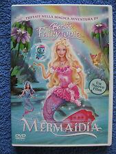 DVD Video Barbie Fairytopia Mermaidia Italienisch Englisch Französisch