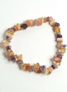 Happiness; Crystal Healing; Stretch Bracelet; Metaphysical