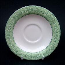 Royal Doulton Lino expresiones patrón de la hoja Colección Taza de té Platillos sólo en muy buena condición