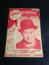 Partition - Maurice Chevalier - Ma Pomme - P1