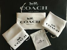 Coach Drawstring Dust Bag Storage Cover Bag /XL,L,M,S,XS,choose from variation!